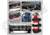 Zestaw uchytów, klatka bezpieczeństwa, 07-15 Jeep Wrangler JK
