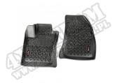 Komplet przednich dywaników, Czarny; 15-16 Jeep Renegade