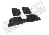 Zestaw dywaników, czarny, 07-15 Jeep Wrangler (JK) 4-drzwiowy