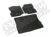Zestaw dywaników, czarny, 76-86 Jeep CJ oraz 87-95 Jeep Wrangler (YJ)