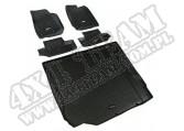 Zestaw dywaników, czarny, 07-10 Jeep Wrangler (JK) 2 drzwiowy