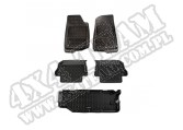Komplet dywaników, czarny; Jeep Wrangler JL (krótki bagażnik)