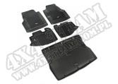 Zestaw dywaników, czarny, 97-06 Jeep Wrangler (TJ)