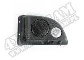 Zestaw fabrycznego głośnika, lewy, czarna obudowa; 03-06 Jeep Wrangler TJ/LJ