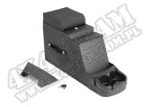 Konsola środkowa Stereo Security, czarna, 76-95 Jeep CJ/Wrangler