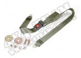 """Pas bezpieczeństwa biodrowy 60"""", olive, 87-95 Jeep Wrangler YJ"""