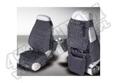 Pokrowce foteli przednich czarne 76-06 Jeep CJ/Wrangler