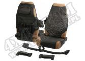 Zestaw akcesorii wnętrza, czarny, 87-06 Jeep Wrangler YJ/TJ