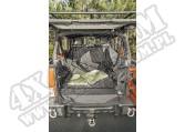 Mata - wykładzina przestrzeni bagażowej C3 Cargo Cover, wersja z subwooferem; 07-16 Jeep Wrangler JK, 4 Door