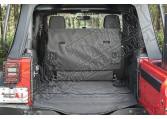 Wykładzina C3 Cargo Cover, 2-drzwiowy bez subwoofera; 07-16 Jeep Wrangler JK