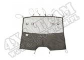 Kurtyna C2 Cargo Curtain, przednia; 07-16 Jeep Wrangler JK/JKU