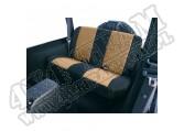 Pokrowiec tylnej kanapy czarny/tan 80-95 Jeep CJ/Wrangler