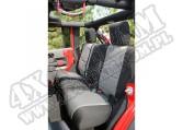 Pokrowiec tylnej kanapy czarno/szary 07-15 Jeep Wrangler Unlimited JK