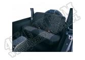 Pokrowiec tylnej kanapy czarny 97-02 Jeep Wrangler TJ