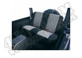 Pokrowiec tylnej kanapy czarno/szary 97-02 Jeep Wrangler TJ