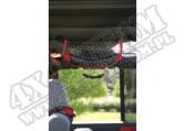 Rączki tylne czerwony 07-15 Jeep Wrangler Unlimited JK