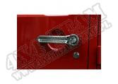 Zestaw nakładek klamek drzwi, chrom, 07-15 Jeep Wrangler JK