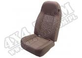 Fotel przedni typu High-Back nie rozkładany tan 76-02 Jeep CJ/Wrangler