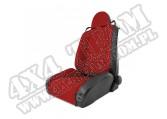 Fotel przedni typu RRC Racing czerwony 84-01 Jeep Cherokee XJ