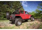Elektryczny miękki dach czarny 07-15 Jeep Wrangler Unlimited JK