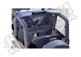Kurtyna klatki bezpieczeństwa black denim 80-06 Jeep CJ/Wrangler