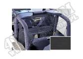 Kurtyna klatki bezpieczeństwa black diamond 80-06 Jeep CJ/Wrangler