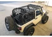 Siatka typu Cargo Net czarna 07-15 Jeep Wrangler 2 drzw