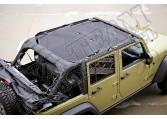 Dach siatkowy typu Eclipse 07-15 Jeep Wrangler JK 4 drzw.