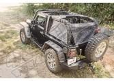 Bariera Eclipse Cargo; 07-16 Jeep Wrangler JK