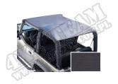 Dach typu Roll Bar Top black denim, 97-06 Jeep Wrangler TJ