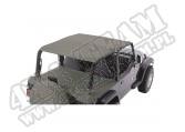 Dach typu Roll Bar Top khaki diamond, 97-06 Jeep Wrangler TJ