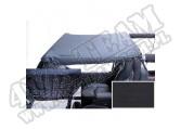 Dach typu Brief Acustic black denim 97-06 Jeep Wrangler TJ