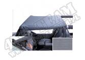Dach typu Brief z kieszeniami szary 92-95 Jeep Wrangler YJ