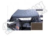 Dach typu Brief z kieszeniami khaki diamond 97-06 Jeep Wrangler TJ
