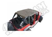 Dach typu Island Topper z kieszeniami 07-09 Jeep Wrangler Unlimited JK