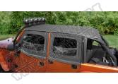 Dach typu Island Topper z kieszeniami 10-15 Jeep Wrangler Unlimited JK