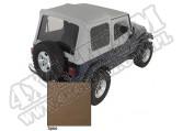 Miękki dach Z poszyciem drzwi spice 88-95 Jeep Wrangler YJ