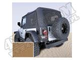 Miękki dach Z poszyciem drzwi spice 97-02 Jeep Wrangler TJ