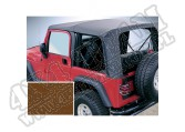 Miękki dach dark tan 97-02 Jeep Wrangler TJ