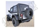 Miękki dach Z poszyciem drzwi black diamond 03-06 Jeep Wrangler TJ