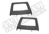 Nadstawki kowbojek tylne, black diamond 07-15 Jeep Wrangler JK 4 drzw