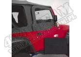Nadstawki kowbojek zestaw, black denim 97-06 Jeep Wrangler TJ