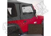 Nadstawki kowbojek zestaw, khaki diamond 97-06 Jeep Wrangler TJ