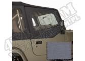 Poszycie nadstawek drzwi szare 88-95 Jeep Wrangler YJ
