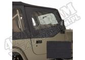 Poszycie nadstawek drzwi black denim 88-95 Jeep Wrangler YJ