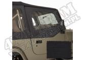 Poszycie nadstawek drzwi black diamond 88-95 Jeep Wrangler YJ
