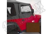 Poszycie nadstawek drzwi dark tan 97-06 Jeep Wrangler