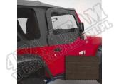Poszycie nadstawek drzwi khaki diamond 97-06 Jeep Wrangler