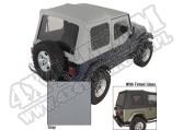 Miękki dach XHD charcoal 88-95 Jeep Wrangler YJ