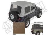 Miękki dach XHD spice 88-95 Jeep Wrangler YJ